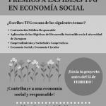 Premios a las IDEAS de TFG sobre Economía Social